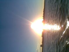 Sunsetting over the beautiful water at Maroochydore Queensland Australia ..taken by Sharon McLean