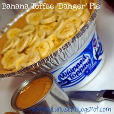 Easy banana toffee pie