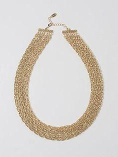 5c678084ca5d Collar dorado. Alba Del · vinted · Mono stradivarius