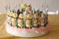 Torta bomboniera battesimo bimba   bomboniera portafoto