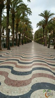 Precioso paseo de Alicante