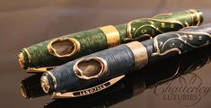 visconti salvador dali pens   This listing is for the Green Version, the Blue Version in a separate ...