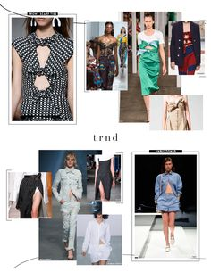 TRND SS18 Trend Report - Details/Styling {Direction for the Contemporary, Young Contemporary, and Fast-Fashion market levels}    #trends #trnd #thetrndforecast #spring2017 #runway #rtw #ss18 #contemporary #youngcontemporary #fastfashion #trendservice