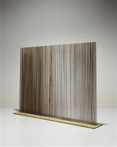 """HARRY BERTOIA  """"Sonambient"""" sounding sculpture, ca. 1970 resonating steel rods"""