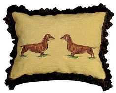 Dachshund Pillow $160.00