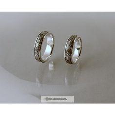 DOMBORÚ HÁROMSZÉKI ÉLETFA KARIKAGYŰRŰ- magyar ékszer Pearl Earrings, Wedding Rings, Engagement Rings, Pearls, Jewelry, Enagement Rings, Pearl Studs, Jewlery, Jewerly
