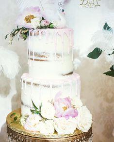 Swan princess naked drip cake #carinaedolce www.carinaedolce www.facebook.com/carinaedolce Novelty Birthday Cakes, Drip Cakes, Baby Shower Cakes, Swan, Naked, Facebook, Princess, Party, Desserts