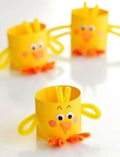 60 creative and easy Easter craft ideas and tips for a fun Easter egg hunt - living idea . - 60 creative and easy Easter craft ideas and tips for a fun Easter egg hunt – living ideas and dec - Easter Arts And Crafts, Bunny Crafts, Spring Crafts, Holiday Crafts, Kids Crafts, Craft Projects, Easter Crafts For Toddlers, Basket Crafts, Cup Crafts