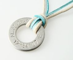 The Magnolia Theater, Downtown Dallas coordinates  Coordinates hand stamped necklace personalized by StampedWorld, $12.00