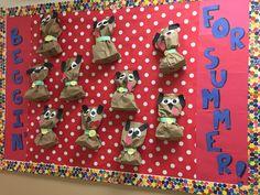 Beggin for summer puppy dogs bulletin board