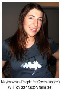 Why I Am Vegan by Mayim Bialik-Mayim is so smart and articulate, please read her article.