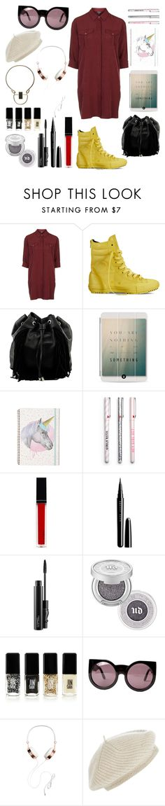 """Sans titre #5"" by cemlais22 on Polyvore featuring mode, Topshop, Converse, Steve Madden, Casetify, Witchery, Marc Jacobs, MAC Cosmetics, Urban Decay et JINsoon"