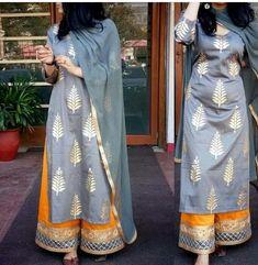 indian fashion Suits -- CLICK VISIT link above for more options Kurta Designs, Latest Kurti Designs, Indian Attire, Indian Ethnic Wear, Ethnic Outfits, Indian Outfits, Eid Outfits, Indian Designer Suits, Designer Kurtis