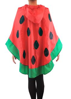 watermelon coat | Watermelon raincoat