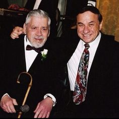 Heroes! The Sherman Brothers. EVERYONE grew up with their music!