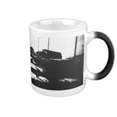Ground View Of Road Tracks Coffee Mugs    •   This design is available on t-shirts, hats, mugs, buttons, key chains and much more    •   Please check out our others designs and products