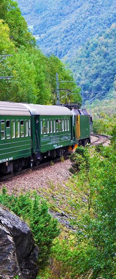 15 reasons why Norway will Rock your World | 12. By train across amazing Norway mountains