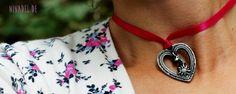Ni*na*del: Wiesn Zeit, schöne Zeit...Kleine DIY Ideen zum Oktoberfest: Halsband mit Hirsch