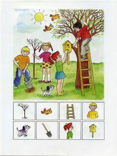 """Find the picture - Encuentra la imágen Oefenen """"waar? Educational Activities, Learning Activities, Activities For Kids, Preschool Worksheets, Preschool Crafts, Teaching Kids, Kids Learning, Hidden Picture Puzzles, Montessori Trays"""