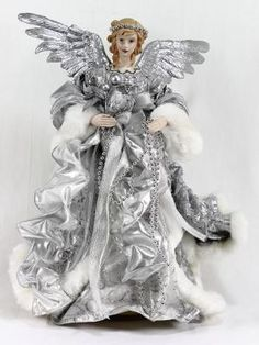 Balsam hill angel tree toppers google search christmas - Balsam hill weihnachtsbaum ...