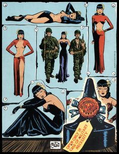 Milton Caniff — Miss Lace