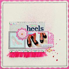 Girlie Heels *Webster's Pages - Scrapbook.com