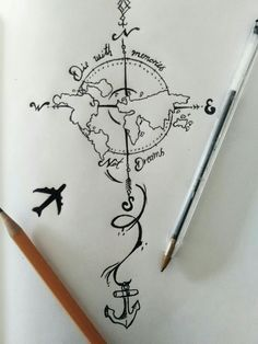 Image result for travel tattoos