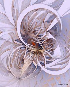 Beautiful fractal artwork (9) ~ Mandy Moore