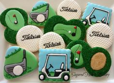 Golf Cookies by Sugared Hearts Bakery