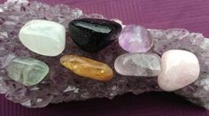 After working with crystals for over 30 years, I have found that there are 7 basic crystals that pretty much cover all of your needs.