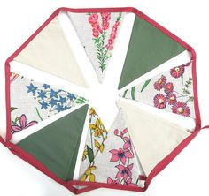 BUNTING Australian Wildflowers Tea Towel Linen & Cotton | Etsy Pretty Flowers, Wild Flowers, Australian Wildflowers, Banner, Tiny Gifts, Bunting Flags, Xmas Party, Birthday Presents, Tea Towels