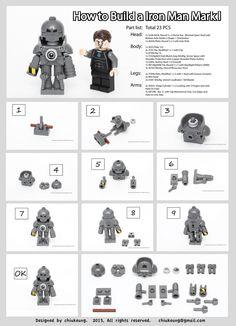 Iron man m.k. 1 armour