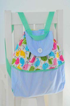 Accesorios para bebes - Su primer Mochilita. www.lorenzabasicos.com Diaper Bag, Bags, Ideas, Fashion, Handbags, Moda, La Mode, Diaper Bags, Fasion