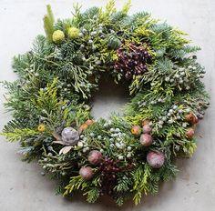 Fresh Christmas Wreath | K's flower novo