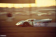 Jo Siffert Brian Redman drive their JW Engineering Gulf Porsche 917 K