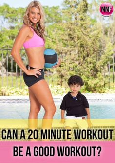How a 20-Minute Workout can be more Fat Burning with the right intensity. Sample Workout here.  http://michellemariefit.publishpath.com/can-a-20-minute-workout-be-a-good-workout