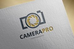 Photography Logo by Super Pig Shop on Creative Market