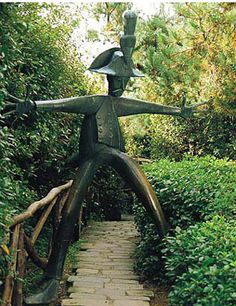 Parco di Pinocchio, Collodi, near Lucca- an early theme park with sculptures by Italian artist Pietro Consagra. Take a walk in the whale's tummy!
