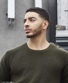 Small steps: At first, Laith came out as gay at age 17 because he didn't understand yet what being trans was