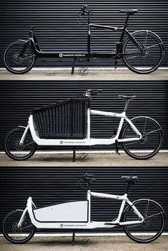 bullitt cargo bike configurations