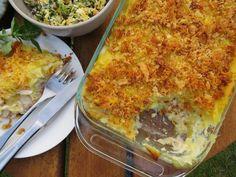Al Brown's Smoked Fish & Kumara Pie