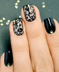 52 Best Simple Nail Highlights