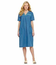 0fe132ce39 Go Softly Patio Denim Feather Patio Dress  Dillards Dillards