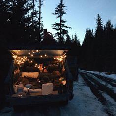Camping roadtrip