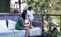 'Comoda e multiculturale: ecco la nostra casa'