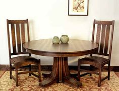 Beautiful Mission Pedestal Table $4800 from Michael Fitzsimmons in Oak Park, IL