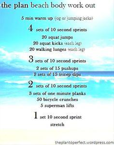 What is the Best Bikini Body Workout for Beginners - Bikini Body Guide Gym Workouts Women, Beach Workouts, Workout Plan For Women, At Home Workouts, The Plan, How To Plan, Beach Body Workout Plan, Bikini Body Guide, Insanity Workout