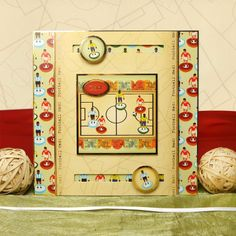 All the Boys by Hunkydory Crafts. Card made using 'Football Mad!' topper set