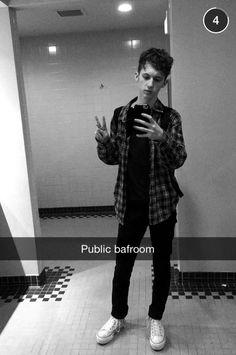 Troye Sivan Snapchat