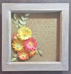 Hope and Chances Creativity: Cinch and Go Flowers III Frame